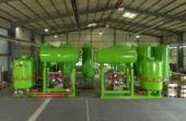 Ion-exchange plant