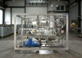 Reinigungsanlage für Phasentrennelemente