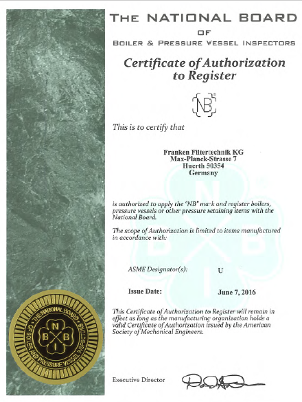 NB Certificate of Authorization to Register